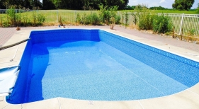 Inground Vinyl Liner Pool